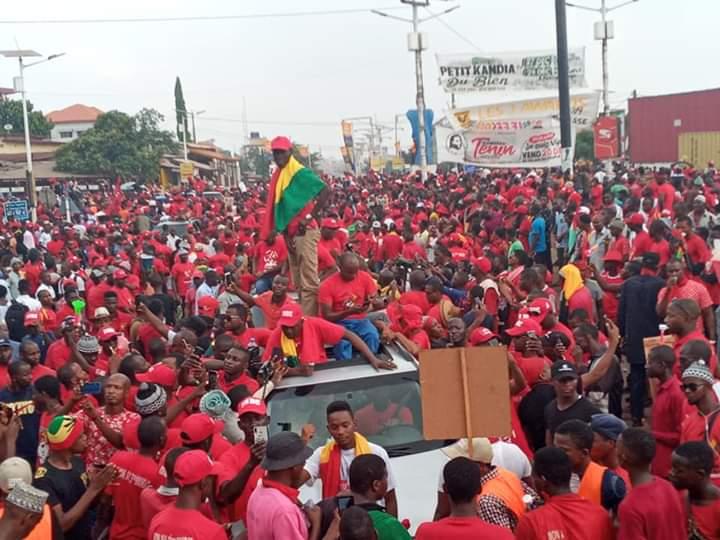 Mamou: dans la rue, les opposants dénoncent les arrestations arbitraires